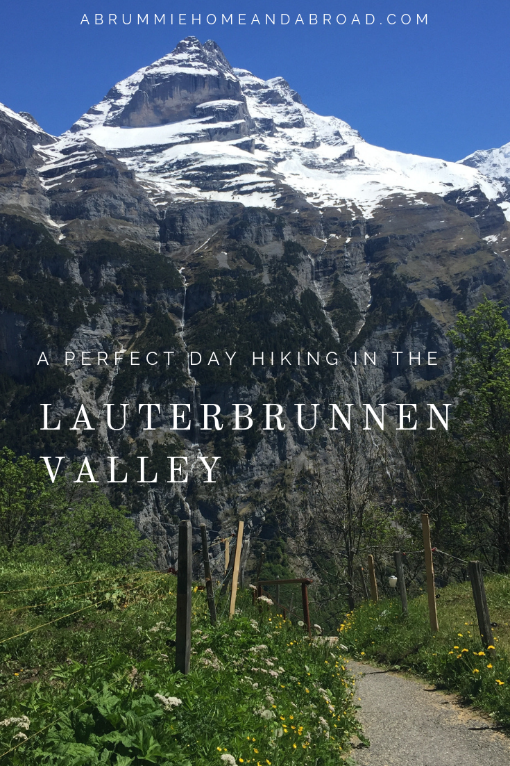 A Perfect Day Hiking in the Lauterbrunnen Valley