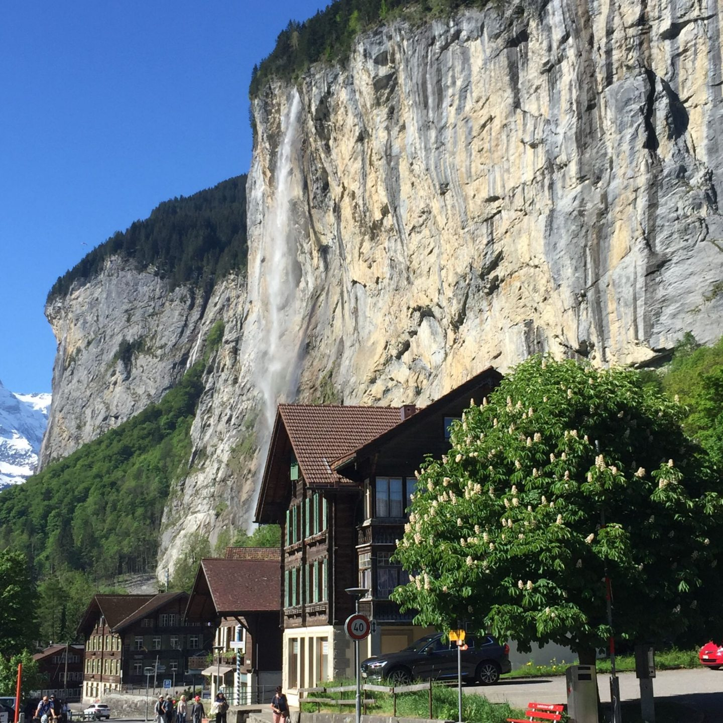 Waterfall in Lauterbrunnen