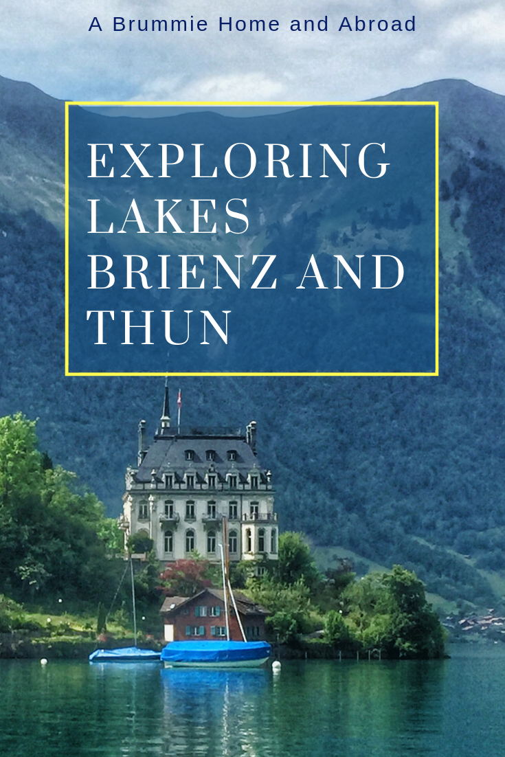 Exploring Lakes Brienz & Thun
