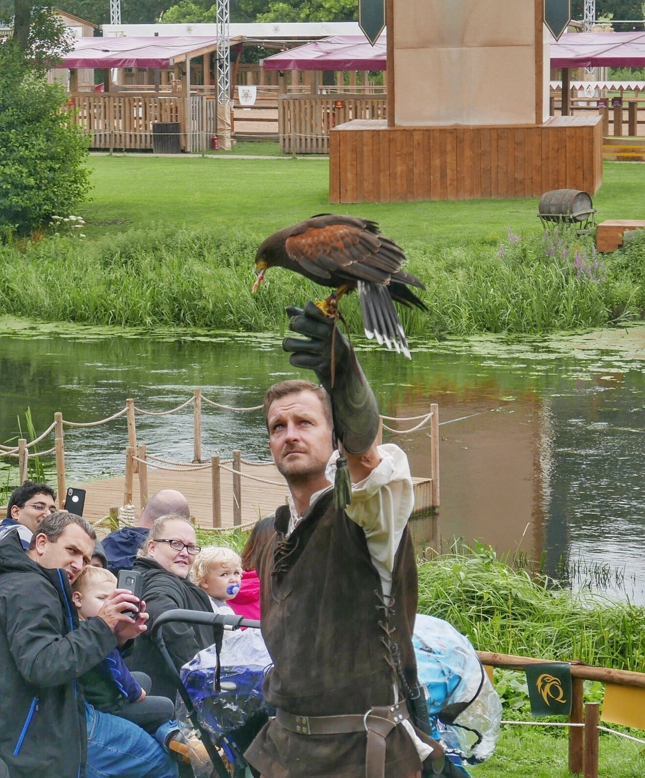 Falconers Quest at Warwick Castle