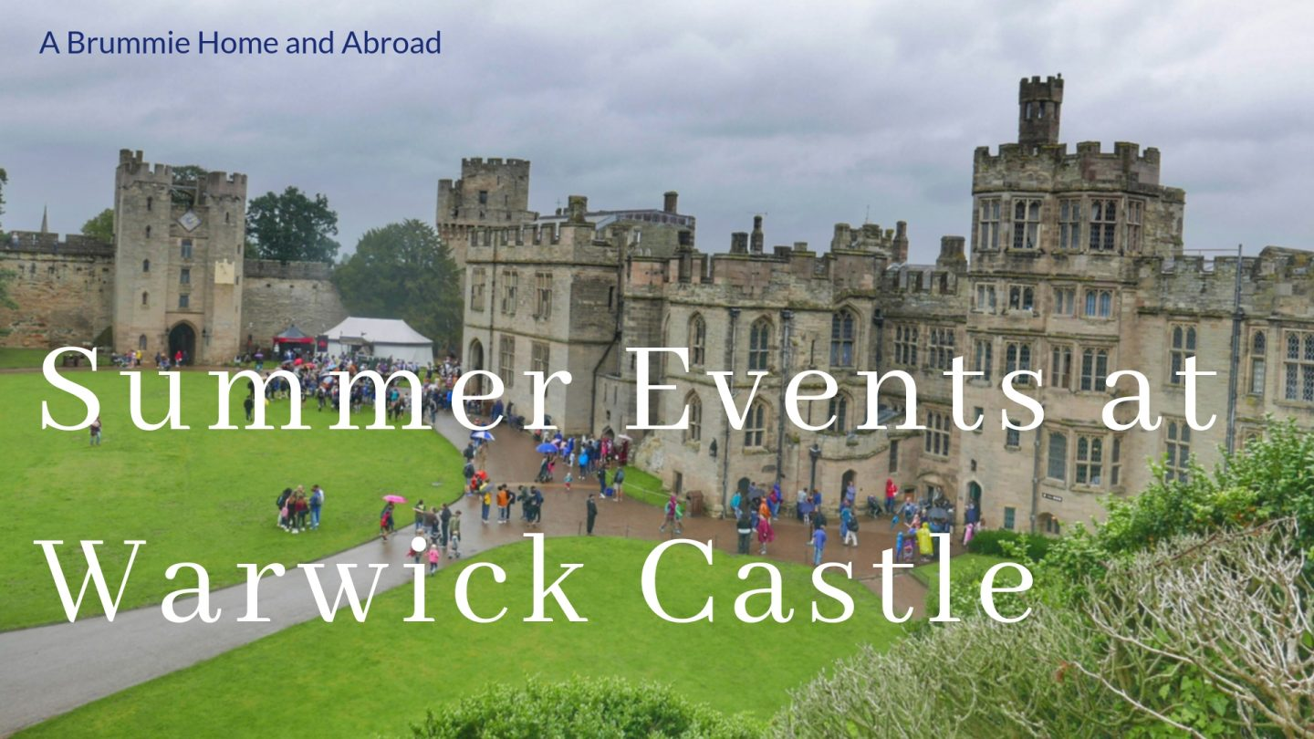 Summer events at Warwick Castle