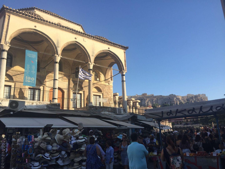Monastiraki Square in Athens