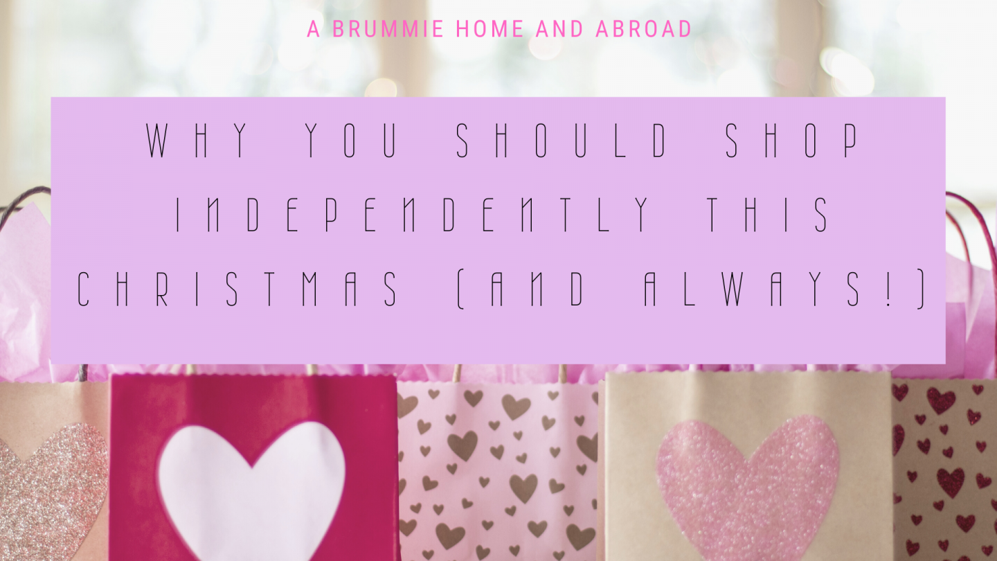 Why You Should Shop Independently