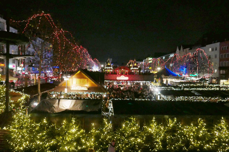Christmas Market at night