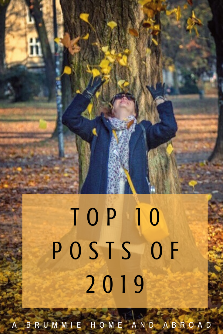 It's that time to year to look back at the 10 most popular posts on A Brummie Home and Abroad this year - what's your favourite?