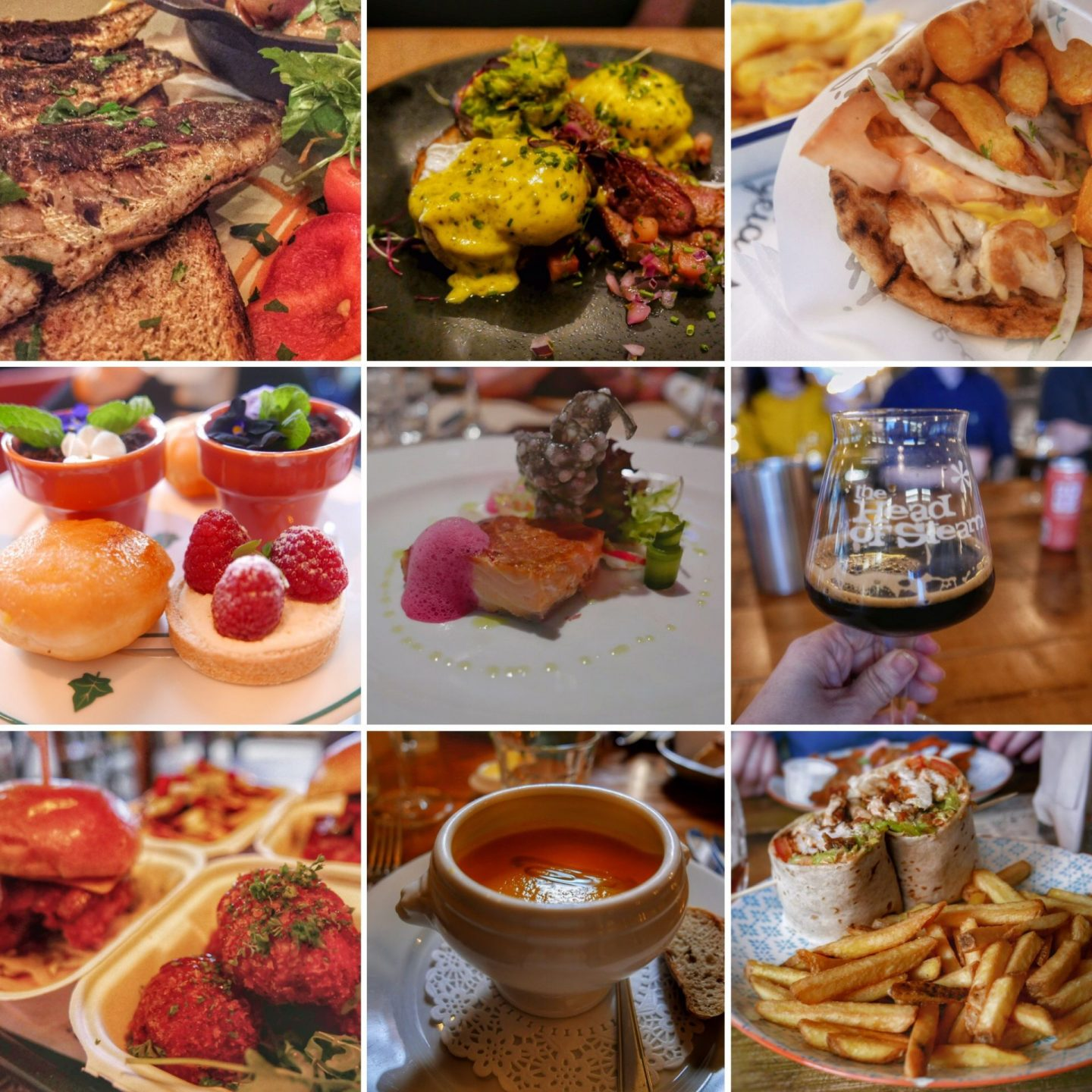 Looking back over 2019 - A Montage of Food and Drink