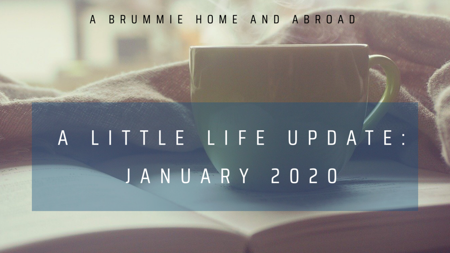 A little life update