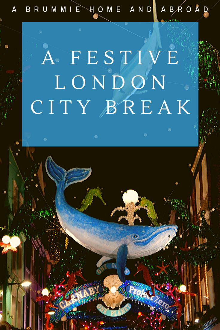 A Festive London City Break