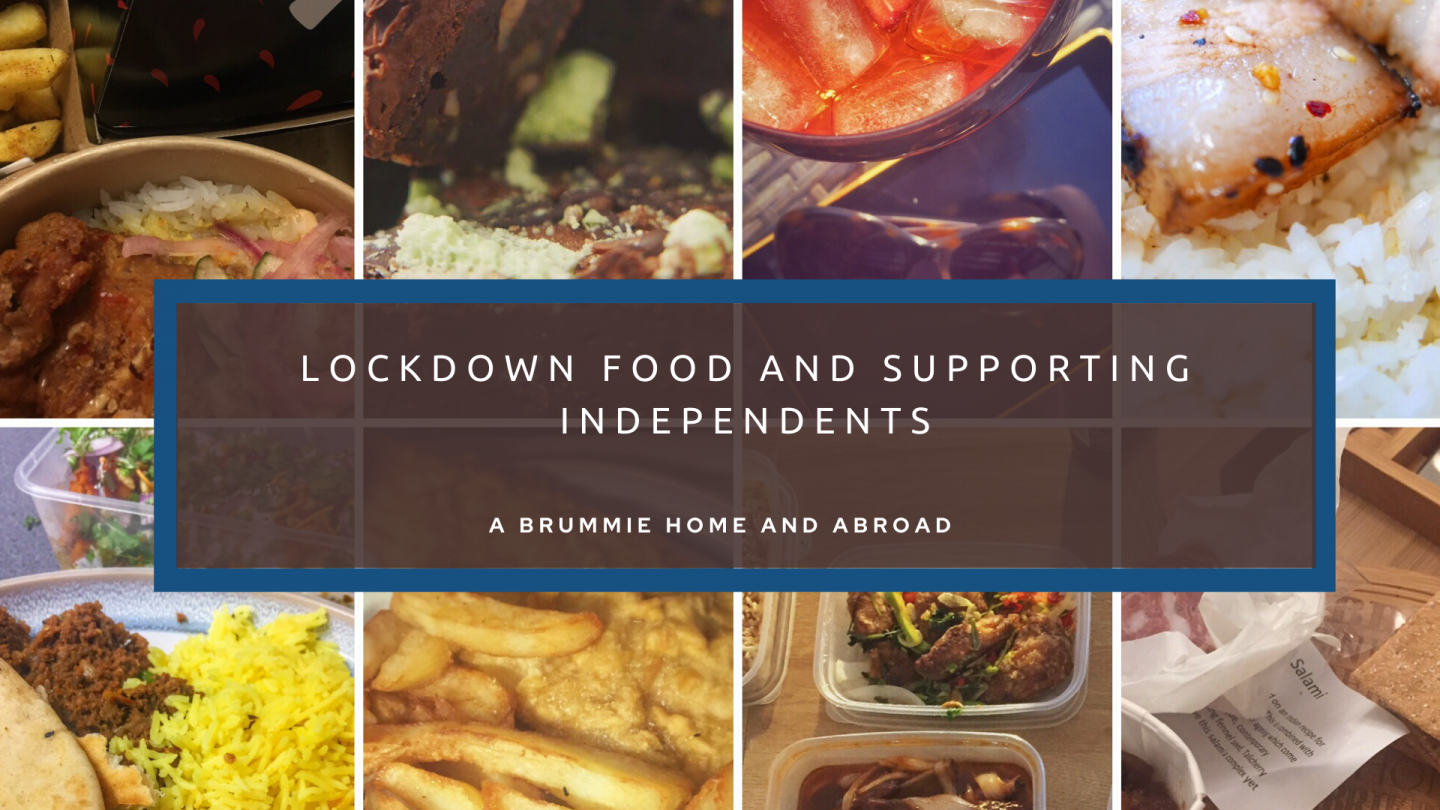 Lockdown Food and Supporting Independents